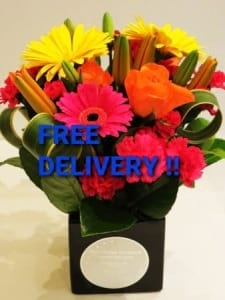 FREE SHIPPING ON ANY FLOWER PURCHASE LOCAL AREAS
