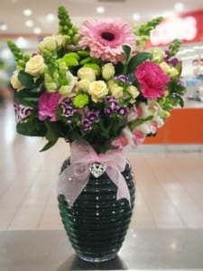 Magical surprise keepsake vase